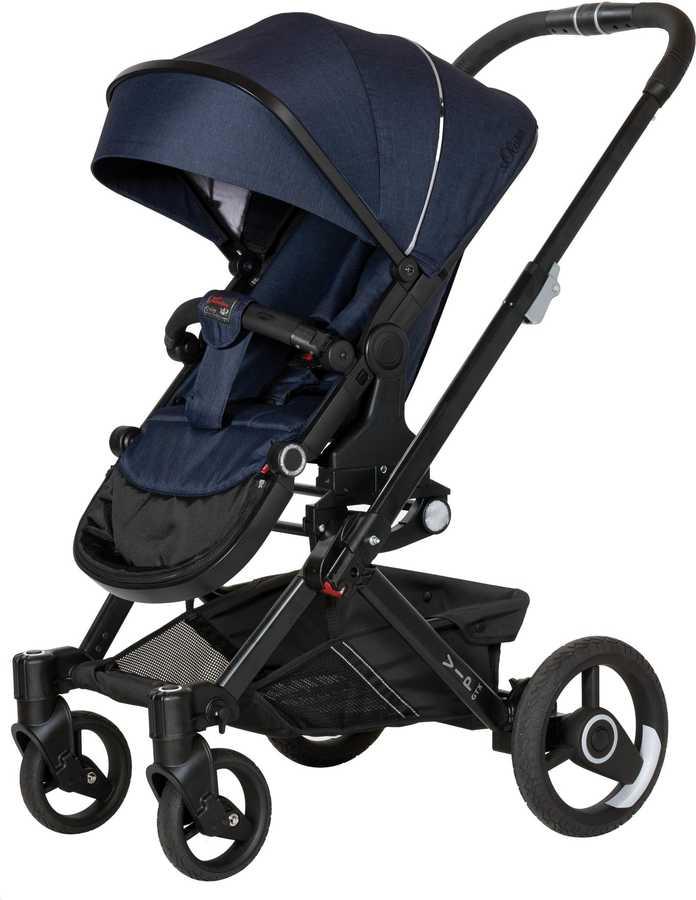 Hartan Vip GTX Blue Denim Travel Sistem Bebek Arabası