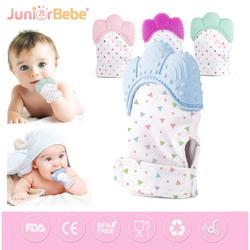 Juniorbebe - Juniorbebe Diş Kaşıma Eldiveni, Diş Kaşıyıcı Eldiven